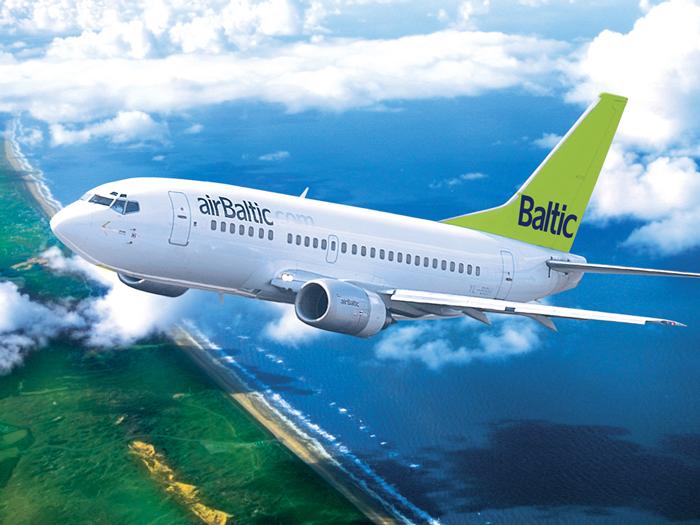 Авиакомпания AirBaltic проводит распродажу